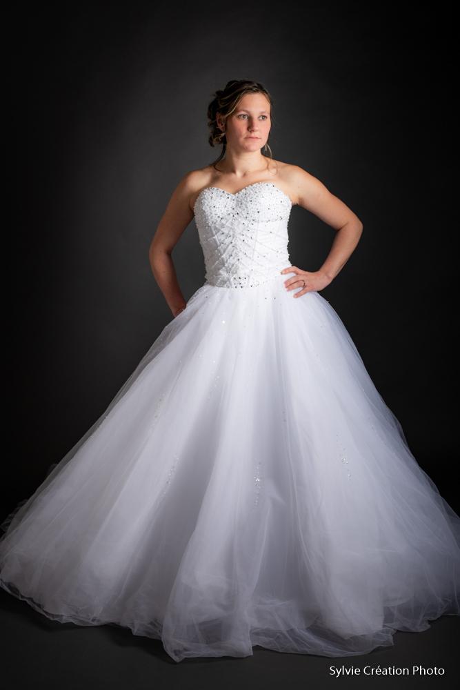 photo de mariage Portrait lisieux la robe