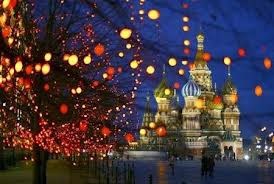Noël en Russie.