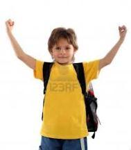 Etre heureux d'aller à l'école.
