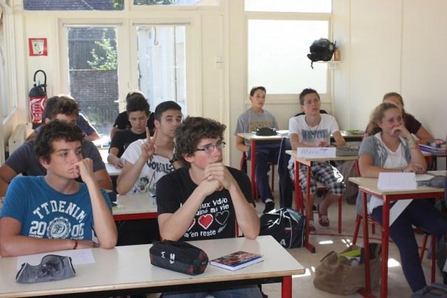 La classe de 2nde - 1ère.