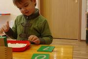 Montessori matériel de mathématiques.