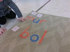 Montessori  alphabet mobile