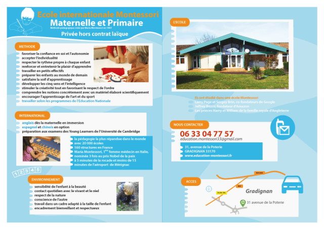 Ecole Montessori Internationale de Bordeaux
