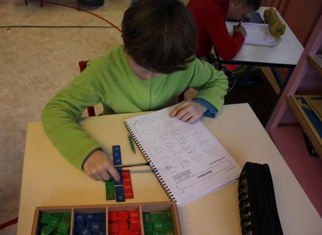 Montessori timbres