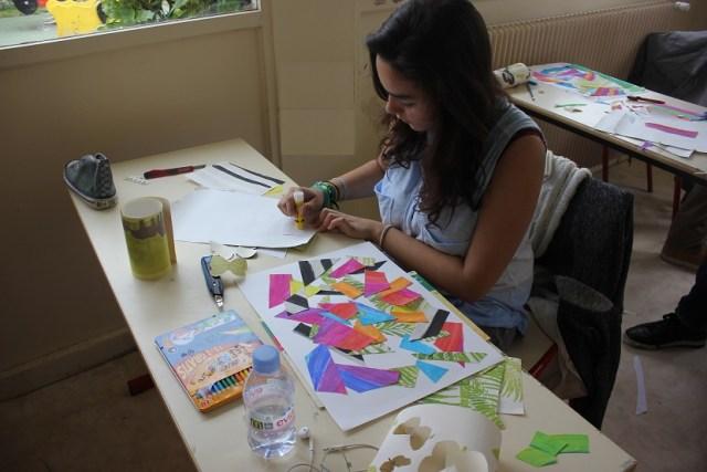 Montessori peinture