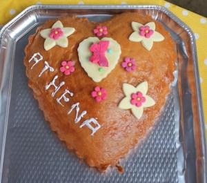 Merci pour le beau gâteau !