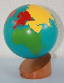 Montessori les continents
