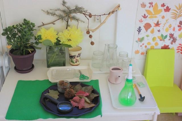 Montessori environnement.