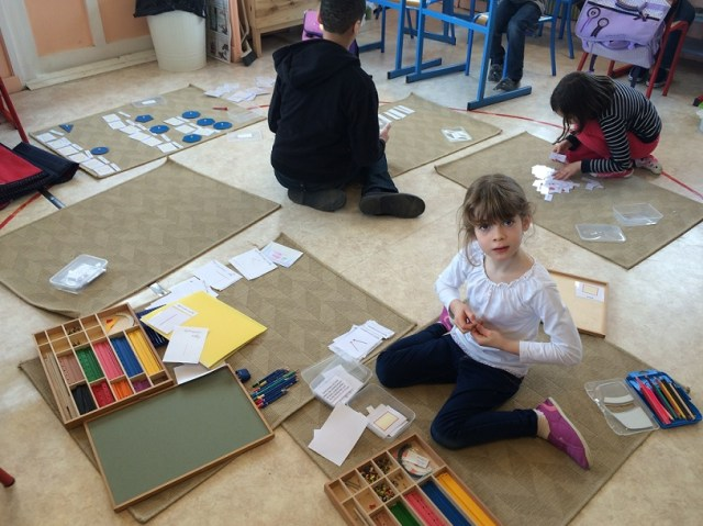 Montessori travail individuel