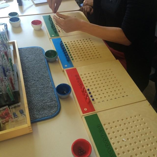 Montessori grandes divisions