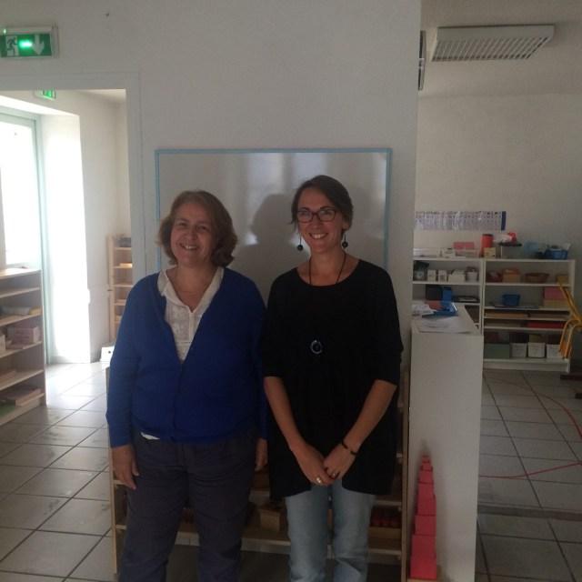 Montessori professeur des écoles.