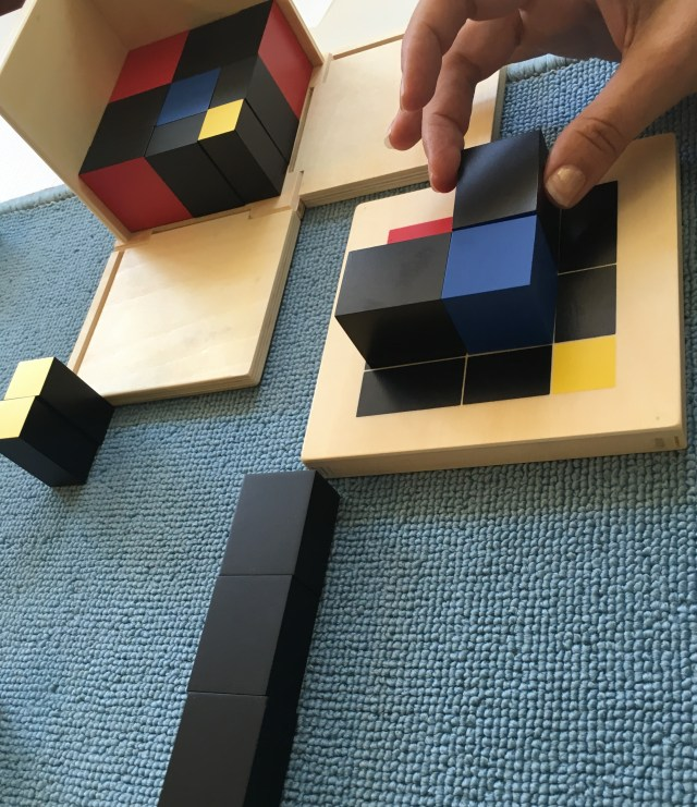 Le cube du trinôme