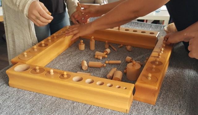 Montessori - vie sensorielle