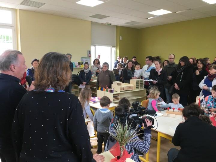 Une école Montessori ouvre grâce à la volonté d'une Mairie