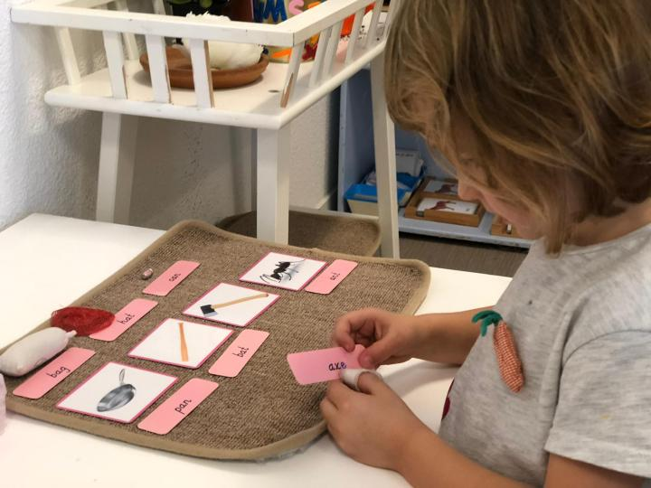 Notre formation Montessori à Villeurbanne