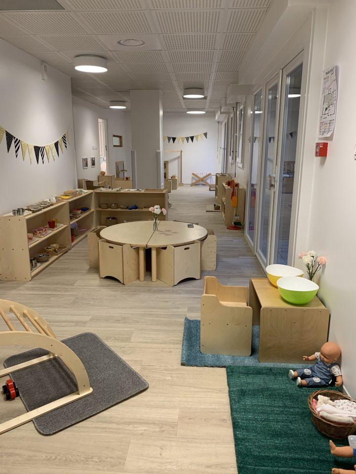 Aménagement d'une nouvelle crèche Montessori Néokids à Orléans