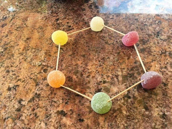 La géométrie et les bonbons !