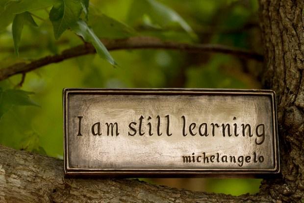 Iam_still_Learning_by_Anne_Davis773_CC_via_Flickr