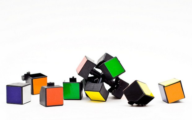Rubik's cube solution CCBY Patrizio Cuscito via Flickr