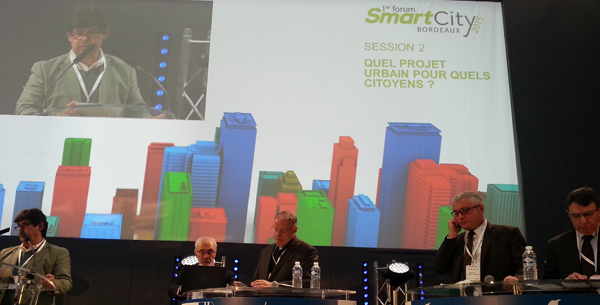 Premier Forum Smart City Bordeaux 2015 - Palais de la Bourse - 3 Avril 2015