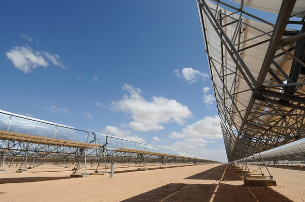 Ain Beni Mathar Integrated Combined Cycle Thermo-Solar Power Plant CCBY Dana Smillie via Flickr