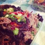 Salade de canard confit