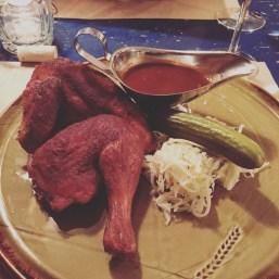 Demi-poulet BBQ véridique