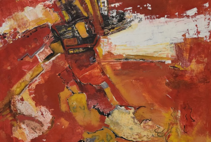 Loudieres sylvie peinture contempraine 80x80