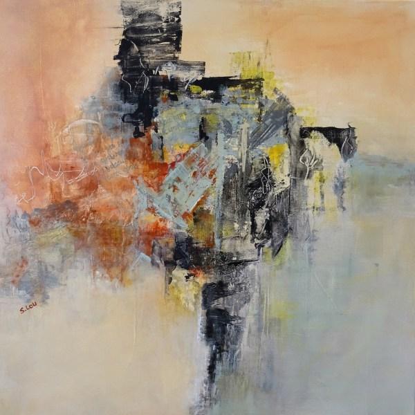Transparence : Nouvelle peinture abstraite