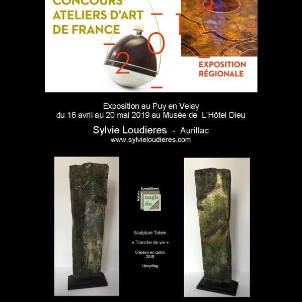 Sélectionnée par les  Ateliers D'Art de France