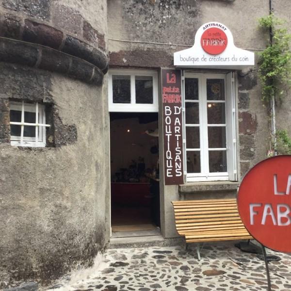 La Fabrik . Boutique partagée à Salers