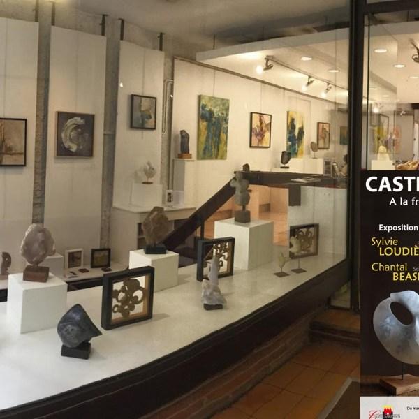 """Exposition """"A la frontière de l'abstrait"""" Galerie de Castelsarrasin : Pour en savoir davantage..."""