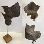 A vous de voir. sculpture en papier Sylvie LOUDIERES