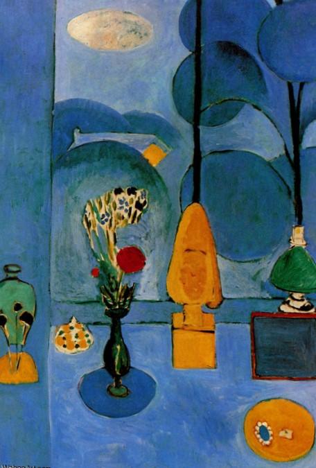 La Fenêtre bleue Henri Matisse New York The Museum of Modern Art