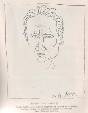 cesar vallejo par Picasso