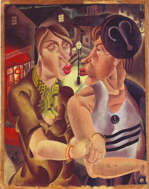 MARCEL RONAY Marin et jeune fille, 1929