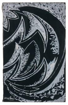 Frantisek Kupka, Composition vers 1924 Gouache signée en bas à gauche 23,2 x 14,5 cm - Galerie Antoine Laurentin - Paris