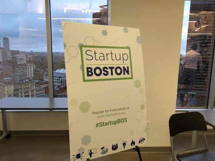 StartupBostonSign