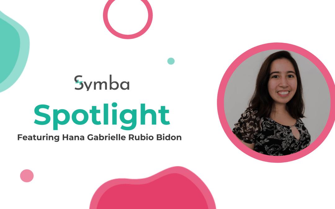 The Symba Spotlight Part Two: Hana Gabrielle Rubio Bidon