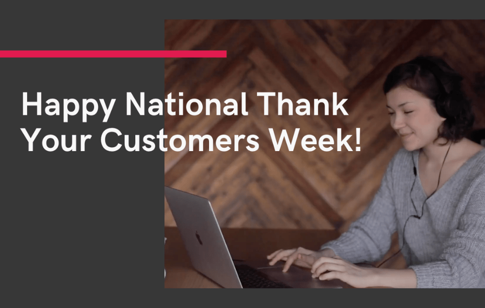 Happy National Thank Your Customers Week from Symba!