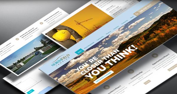 Northfield Landing website