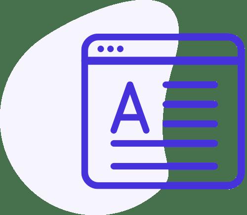 Content Marketing Service Icon