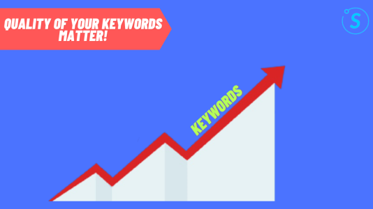 Quality of Keywords matter