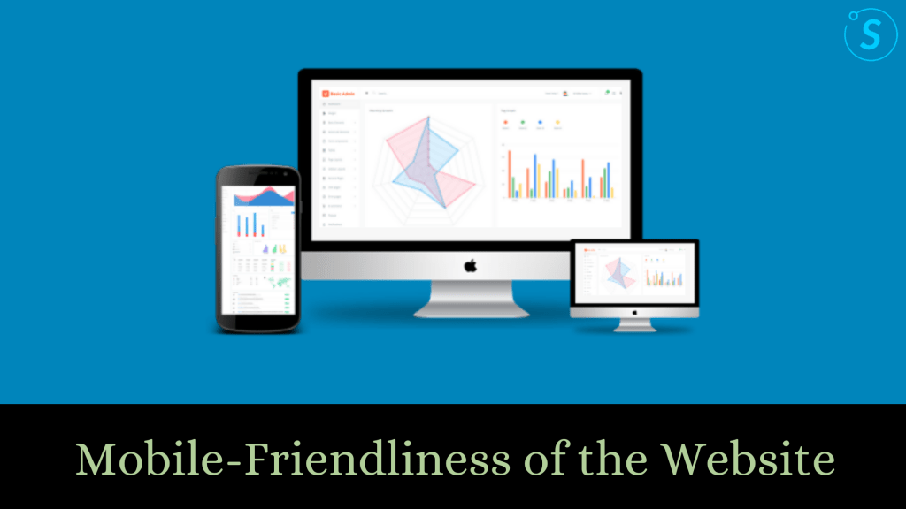 Mobile Friendliness of the website