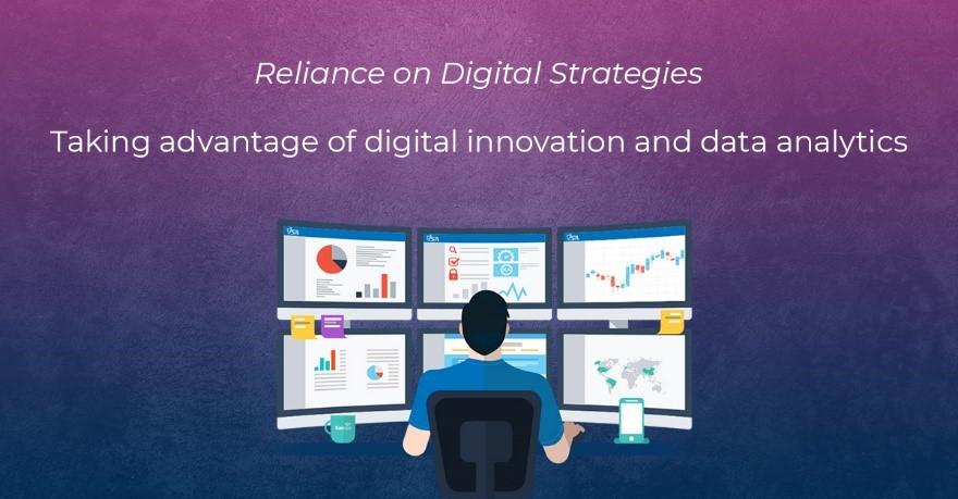 Reliance on Digital Strategies