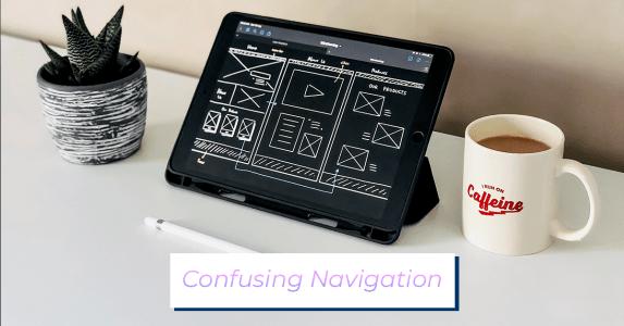 Confusing Navigation