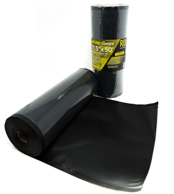 Stashbags 11.5x50 Black Clear