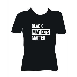 SYMBYS LLC RENEGADES BLACK MARKETS MATTER T-Shirt