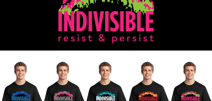 Indivisible shirt design options