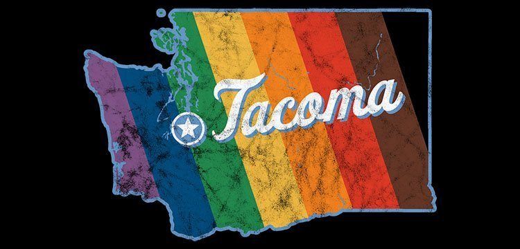 Tacoma Washington Pride Map